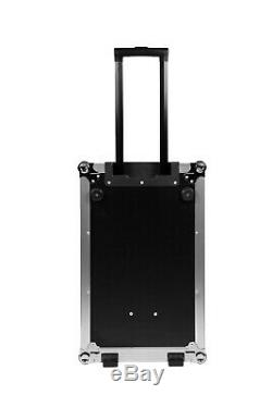 Rolling PartyFX ProX Multipurpose Locking Flight Case with Rubber Lining & Handle