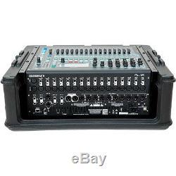 SKB 10U Slant Mixer Case with Hardshell Top