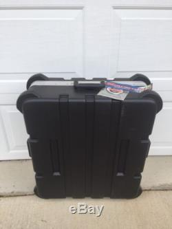 SKB 19-P12 Pop-UP 12-Space 12U Slanted ATA Mixer Rack Road Case