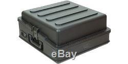 SKB 1SKB-R100 10U Top Mixer Rack Case, Steel Rails, Removable Door, Access Port