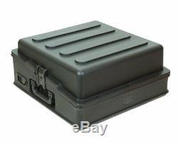 SKB 1SKB-R100 Roto Molded 10U Slant Top Mixer Case PROAUDIOSTAR