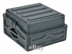 SKB 1SKB-R102 10U x 2U Roto Rack Mixer Combo Case