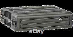 SKB 1SKB-R2S 2u Shallow Rack Case