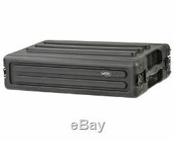 SKB 1SKB-R2S Portable Roto Molded 2U Shallow Rack PROAUDIOSTAR
