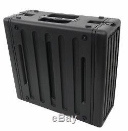SKB 1SKB-R4 4U Ultimate Strength 4U Rear Rail Roto Molded Rack Case 1SKBR4