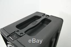 SKB 1SKB-R4S 4U Shallow Roto Rack Steel Rails Front/Back 10.5-Inch Deep Black
