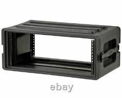 SKB 1SKB-R4S Portable Roto Molded 4U Shallow Rack PROAUDIOSTAR
