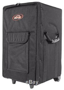 SKB 1SKB-SCPM2 Rolling Powered Mixer/Speaker Case with Wheels