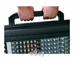 SKB 1SKB19-R1400 14U Slant Top Mixer Rack-Mount Travel Case PROAUDIOSTAR