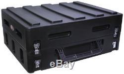 SKB 1SKB19-R1400 Gig Safe Roto-Molded 14U Slanted Mixer Case