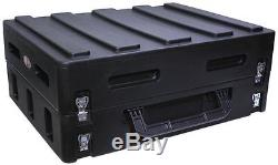 SKB 1SKB19-R1400 Gig Safe Roto-Molded 14U Slanted Mixer Case