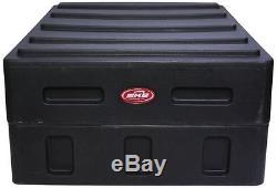 SKB 1SKB19-R1400 Roto-Molded 14U Slanted Mixer Case+1SKB-RE-TF1 Rack Ears