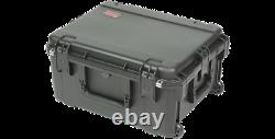 SKB 2 Space Rack Cage 13 deep removable + Carrying Road Case with Foam Fitting