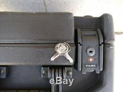 SKB 2U Studio Flyer Rack Mount Rolling Case 1SKB-iSF2U Portable DJ