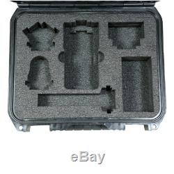 SKB 3I-1209-4-H6B Injection Molded Case Zoom H6 Recorder with Shotgun Mic Slot