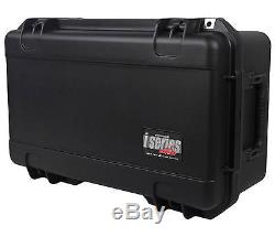 SKB 3i-2011-MC12 Injection Molded Hard Case withFoam for (12) Microphones+Storage