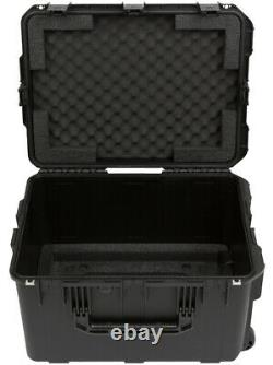 SKB 6 Space Rack Cage 13 deep removable + Carrying Road Case with Foam Fitting