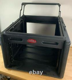 SKB Audio and DJ Mixer Rack Case w laptop shelf