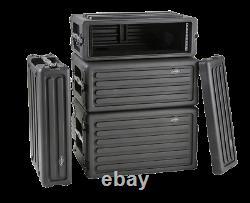 SKB Cases 1SKB-R2S 2U Shallow Roto Rack Steel Rails With 10.5-Inch Deep (1SKBr2S)