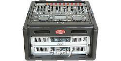 SKB MOLDED 10U TOP, 4U MIXING BOARD TOP MIXER CASE RACK MOUNT for DJ VJ AMPS