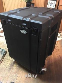 SKB Mighty Gig Rig Mini Gig Rig Casters Mixer Amp Rack Case