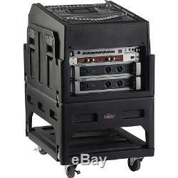 SKB Mighty Gig Rig Rack Case & SKB AV14 19 AV Shelf