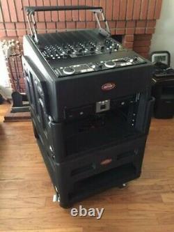 SKB Mighty Gig Rig Rolling Rack Case Rackmountable Mixer Case 14U TOP + 19U