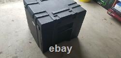 SKB Mini Gig Rig Rack Mixer Amp Rack Case, Road Case