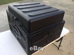 SKB R104 10U + 4U Mixer Rack Case