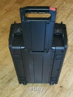 SKB Studio Flyer Rolling Rack Mount Case, New model, 1SKB-iSF2U 2U Travel