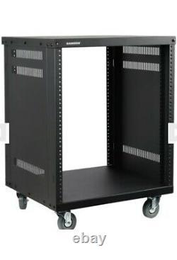 Samson SRK12 12u Server Case Rack Case On Wheels