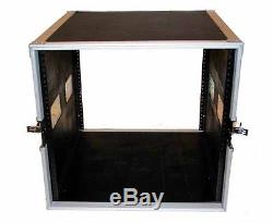 Seismic Audio 10 SPACE RACK CASE with 4U LOCKING DRAWER Amp Effect Mixer PA/DJ PRO