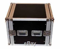 Seismic Audio 10U SPACE RACK CASE Road ReadyCrossover AmpAmplifier