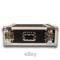 Seismic Audio 4 SPACE RACK CASE Amp Effect Mixer PA/DJ PRO Audio New