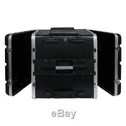 Sound Town Lightweight 10U PA DJ Rack/Road Case ABS, 19.25 Depth (STRC-A10UT)