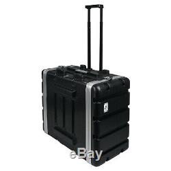 Sound Town Lightweight 6U PA DJ Rack/Road Case withh ABS, 19 Depth (STRC-A6UT)