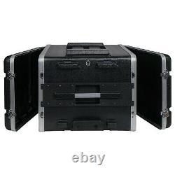 Sound Town Lightweight 7U PA DJ Rack/Road Case ABS, 19 Depth (STRC-A8UT)
