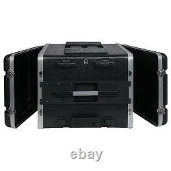Sound Town Lightweight 8U PA DJ Case with 7U Rack ABS, 19 Depth (STRC-A8UT)