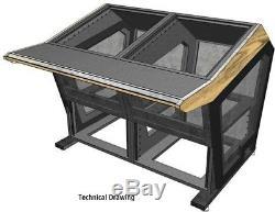 Sterling Modular Plan A Mastering Console/ Studio Desk Workstation