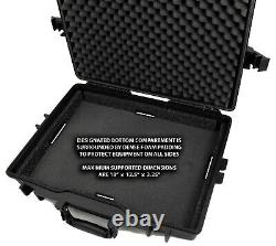 Synthesizer and Mixer Case fits Roland MC-707 Groovebox, TR-8S Rhythm and More