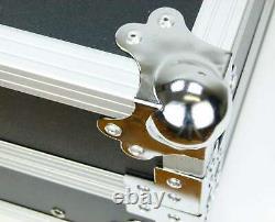 TEGO PRO 8 HE 19 DJ Mixer Mischpult Case / Flightcase / Flight Rack schwarz