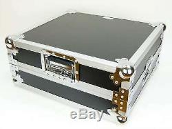 TEGO PRO Mixercase PROFI MCB-19, 8 HE 19 Mischpult Mischer Mixer Flight Case DJ
