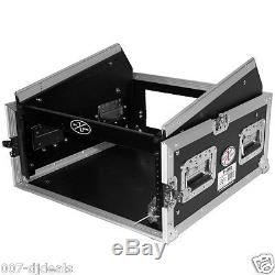 TOV CASES ATA 4 Rack Space Flite AMP Case with Mixer Top