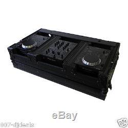 Tov T-cdim10/12wbl 2 Med CD Player Mixer Dj Coffin Case