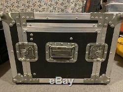 Universal ATA 19 Slant Rack Mount Mixer DJ Flight Travel Road CASE
