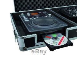 Universal Konsole DIGI-2 für 1x 19 MIXER + 2x CD-PLAYER DJ-Case DJ-Workstation