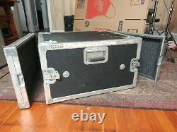 Viking Cases rack road case, 30.5 X 23 X 14.5 well used for audio visual gear