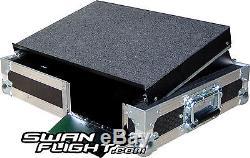 Xone 3D 4D PCDJ Laptop Shelf Mixer DJ Swan Flight Case (Hex)