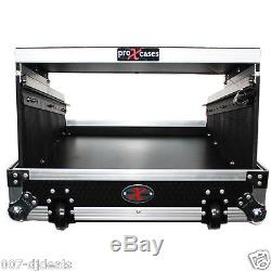 Yamaha 01V96i mixer ProX Flight Road hard case Glide Latop shelf wheels & handle