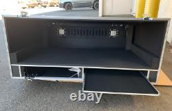 Yamaha CL5 Road Case Brand New with Shelf and Rack Space Casters & Doghouse